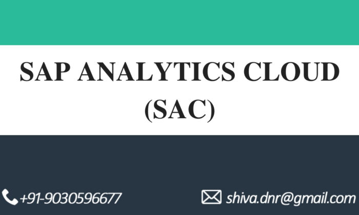 SAP Analytics cloud videos