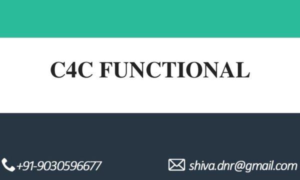 c4c functional videos