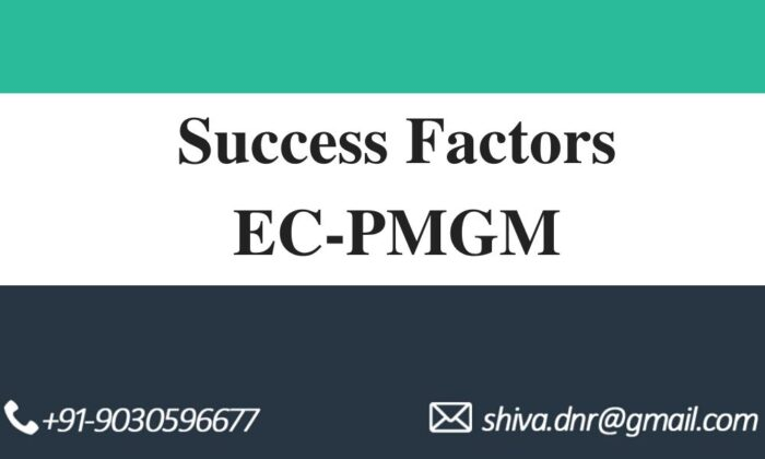 SUCCESS FACTORS EC pmgm