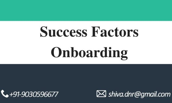 Success factors Onboarding