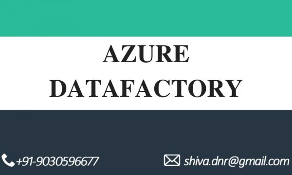 AZURE DATA FACTORY