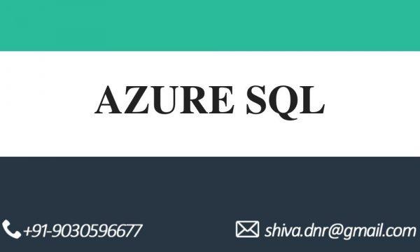 AZURE SQL VIDEOS